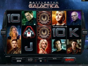 Microgaming Battlestar-Galactica video slot